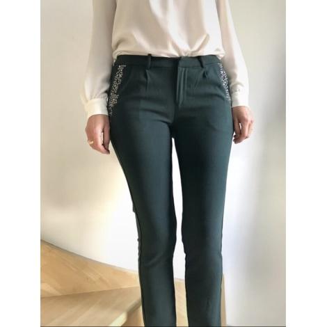 Pantalon carotte ANTIK BATIK Vert