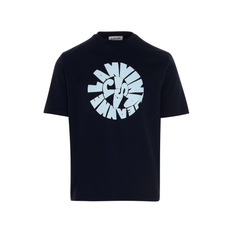 T-shirt LANVIN Blue, navy, turquoise