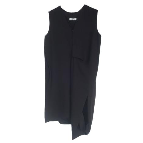 Robe courte ACNE Noir
