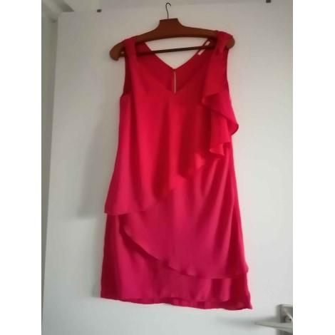 Robe mi-longue H&M Rose, fuschia, vieux rose