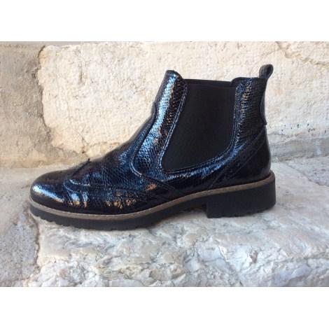 Bottines & low boots plates SALAMANDER Bleu, bleu marine, bleu turquoise