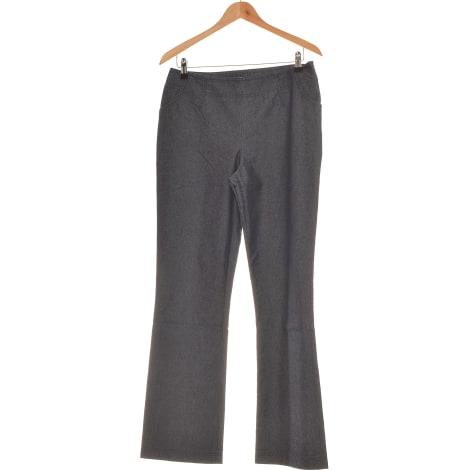 Cropped Pants, Capri Pants ALAIN MANOUKIAN Blue, navy, turquoise