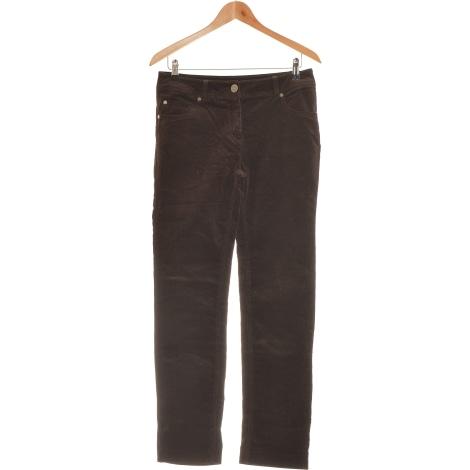 Pantalon droit BRÉAL Marron
