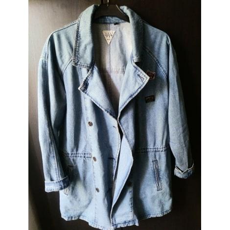 Veste en jean IKKS Bleu, bleu marine, bleu turquoise