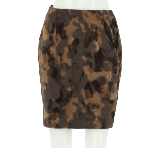 Midi Skirt ALAIN MANOUKIAN Brown