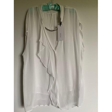 Top, tee-shirt IKKS Blanc, blanc cassé, écru