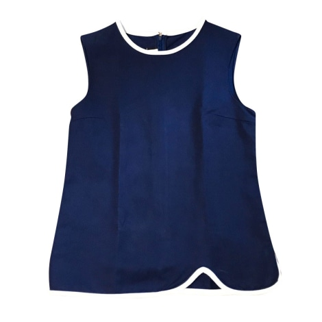 Top, tee-shirt MARNI Bleu, bleu marine, bleu turquoise