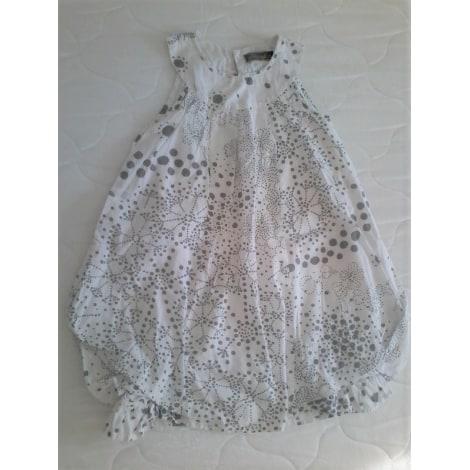 Robe JEAN BOURGET Blanc, blanc cassé, écru