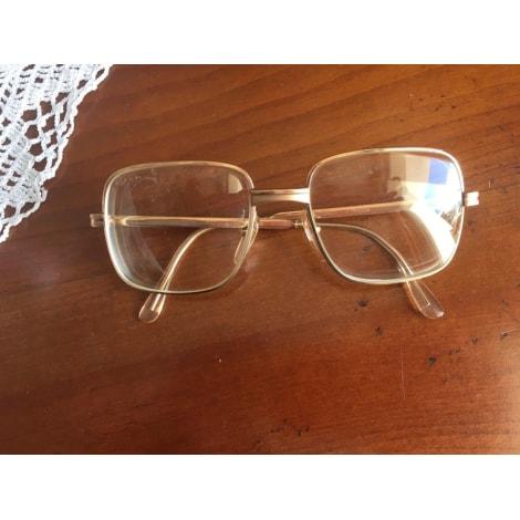 Monture de lunettes MOREL Doré, bronze, cuivre