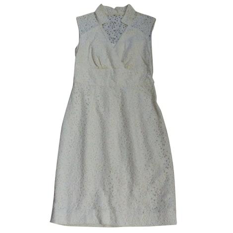 Robe mi-longue MILLY Blanc, blanc cassé, écru