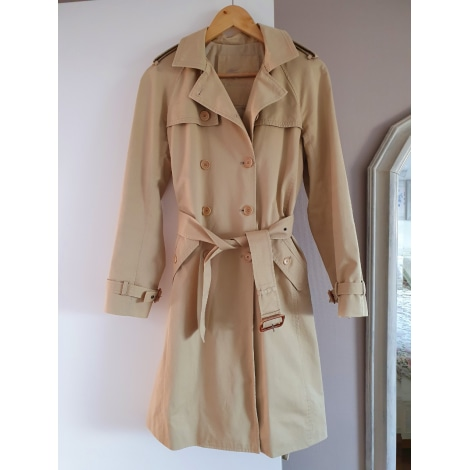 Imperméable, trench LACOSTE Beige, camel