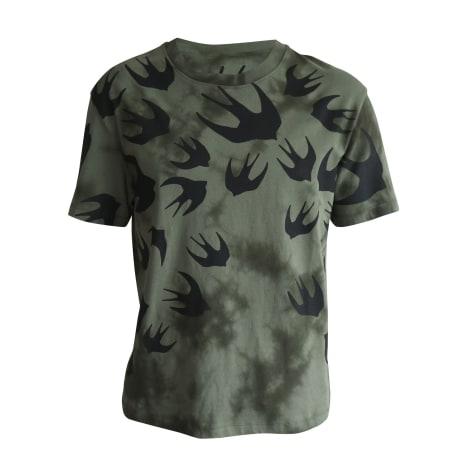 T-shirt ALEXANDER MCQUEEN Khaki