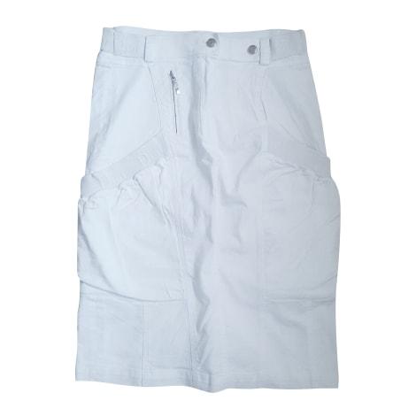Jupe mi-longue DIOR Blanc, blanc cassé, écru