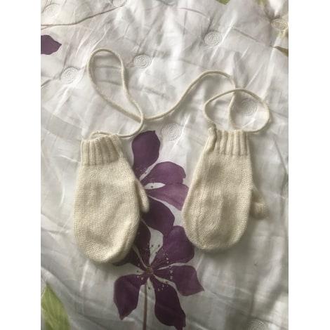 Moufles BONPOINT Blanc, blanc cassé, écru