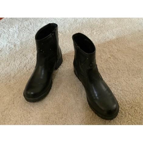 Bottines & low boots plates CREEKS Noir