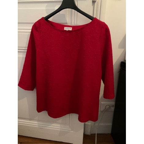 Blouse CLAUDIE PIERLOT Rouge, bordeaux