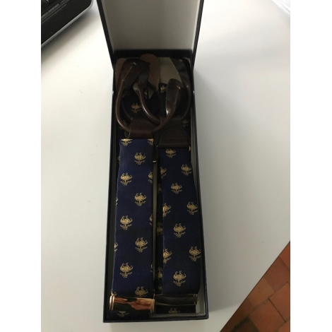 Suspenders BROOKS BROTHERS Blue, navy, turquoise