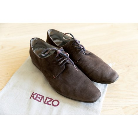 Lace Up Shoes KENZO Brown