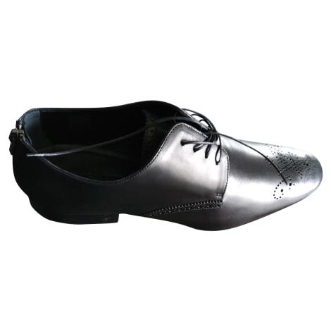 Lace Up Shoes LOUIS VUITTON Black