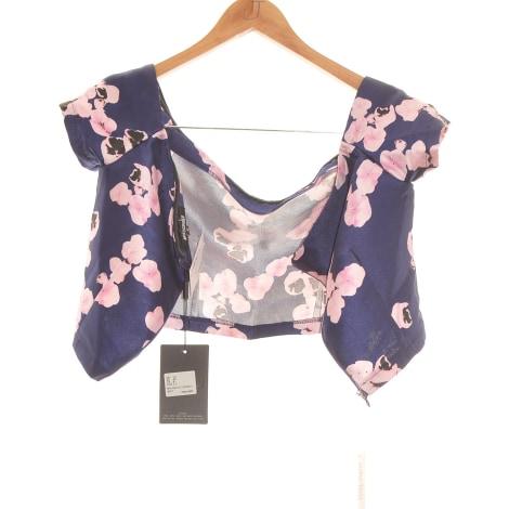 Top, tee-shirt MISSGUIDED Violet, mauve, lavande