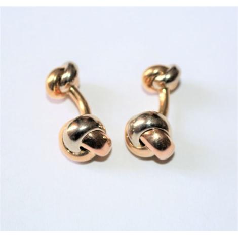 Cufflinks CARTIER Golden, bronze, copper