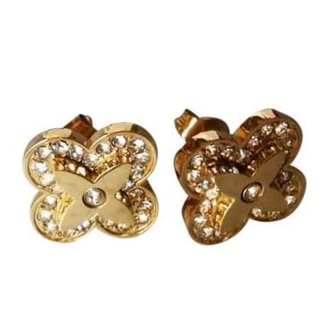Ohrringe LOUIS VUITTON Gold, Bronze, Kupfer