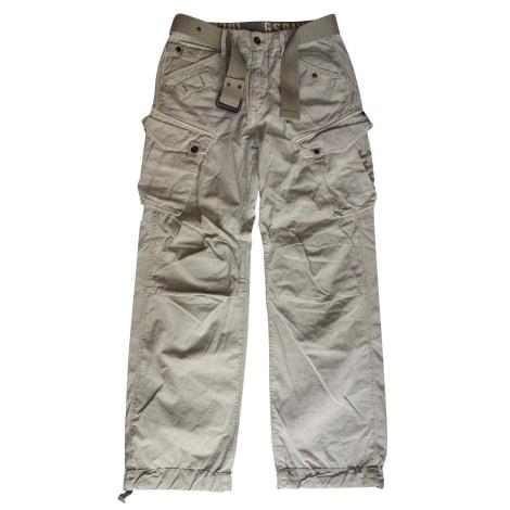 Wide Leg Jeans G-STAR Beige, camel