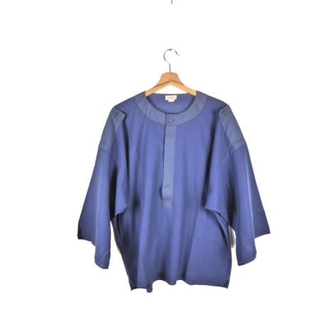 Chemise VERSACE Bleu, bleu marine, bleu turquoise
