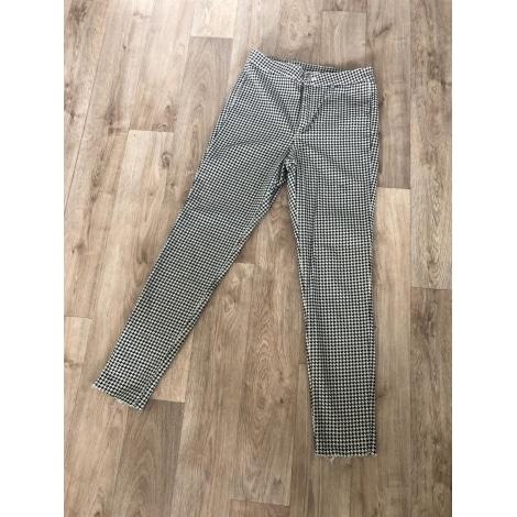 Pantalon slim, cigarette H&M Multicouleur