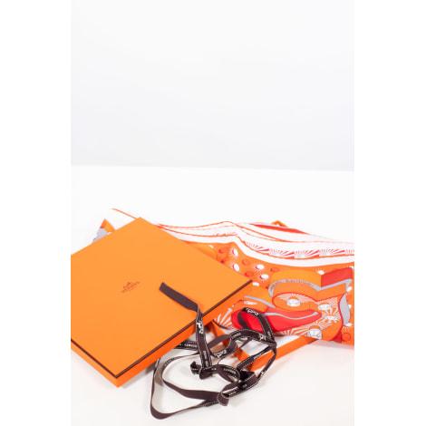 Foulard HERMÈS Carré Orange
