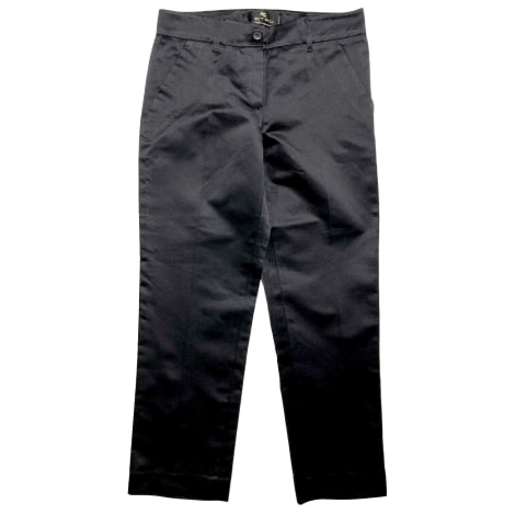 Pantalon droit ETRO Noir