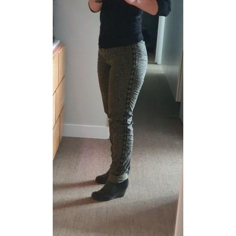 Pantalon droit MAISON SCOTCH Imprimés animaliers
