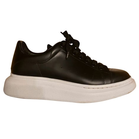 Lace Up Shoes ALEXANDER MCQUEEN Black