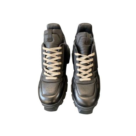 Lace Up Shoes RICK OWENS Black