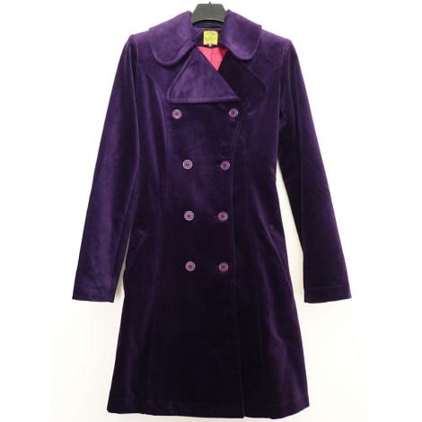 Manteau TIM BARGEOT Violet, mauve, lavande