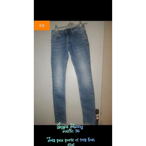Jeans slim JULES Bleu, bleu marine, bleu turquoise