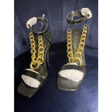 Sandales à talons MISSGUIDED Noir