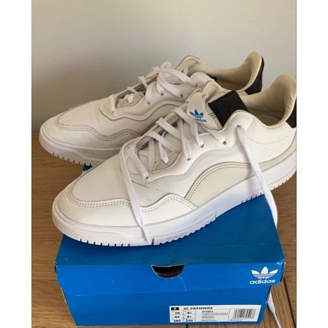 Sneakers ADIDAS 44 white - 11457175