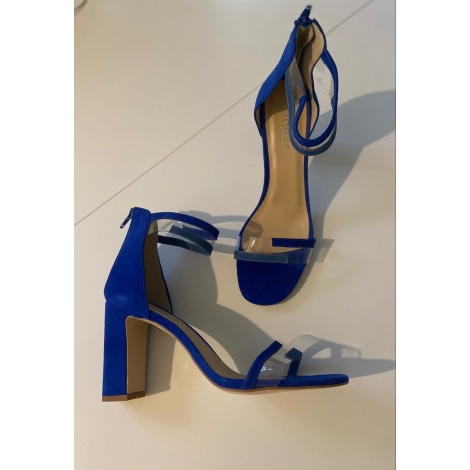 Sandales à talons JONAK Bleu, bleu marine, bleu turquoise