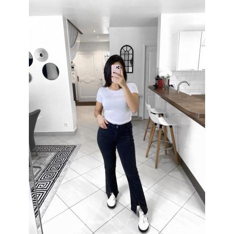 Jeans évasé, boot-cut CINDY H Gris, anthracite