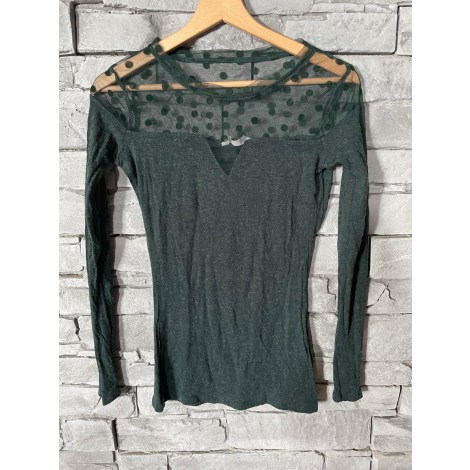 Top, tee-shirt NAF NAF Vert