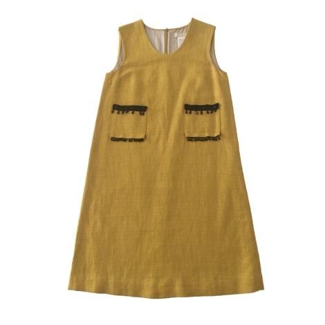 Midi Dress MAX MARA Yellow