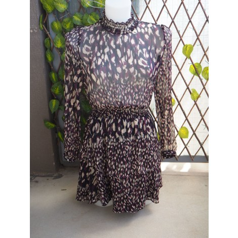 Robe courte ZARA Violet, mauve, lavande