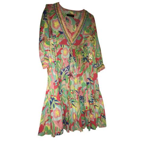 Robe courte TWIN-SET SIMONA BARBIERI Multicouleur