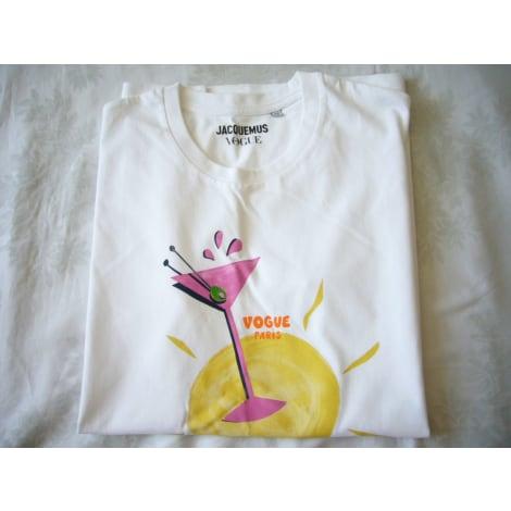 Top, tee-shirt JACQUEMUS Blanc, blanc cassé, écru