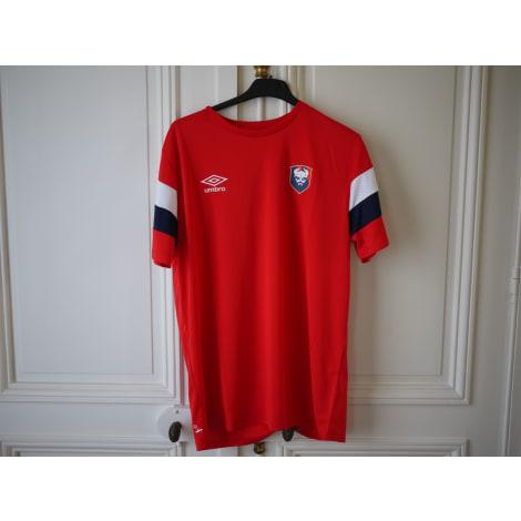 T-shirt UMBRO Red, burgundy