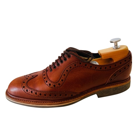 Lace Up Shoes BARKER Brown
