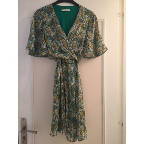 Robe courte VINTAGE LOVE Vert