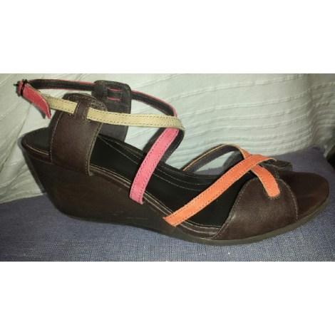 Sandales compensées CAMPER Multicouleur