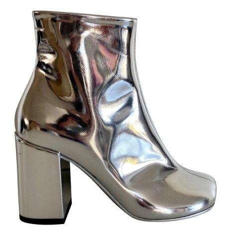 High Heel Ankle Boots MAISON MARTIN MARGIELA Silver